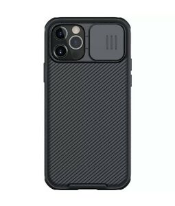 Nillkin Camshield Pro Case For iPhone 12 Pro Max - Black