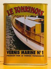 1L Le Tonkinois Vernis Marine Nr. 1 - der UV-beständige, chemiefreie Bootslack !
