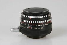 """Meyer-Görlitz 2,8/50mm 1Q Domiplan """" Zebra """" #4386904 Exa Baj. auch für Digitale"""