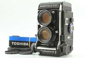 【Body MINT】 Mamiya C330 Pro F TLR Camera w/ Sekor DS 105mm f/3.5 Blue Dot Japan