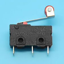 10Pcs Circuit Board PCB Micro Roller Lever Arm Open Close Limit Switch KW12-3