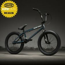 "2019 Kink Curb 20"" BMX Bike (Gloss Smoked Stang Teal) Complete BMX Bike"