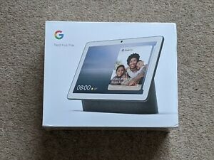 Google Nest Hub MAX Smart Display Speaker CHARCOAL - BRAND NEW.