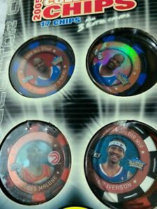 (LIMITED/holo) Shaquille Allen Iverson Moses Malone 2005-06 NBA Topps +16 more