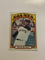 1972 Topps #280 Willie McCovey San Francisco Giants