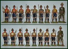 Britains Set #161 Boy Scouts with Scoutmaster