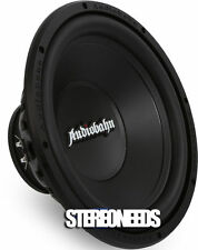"""NEW AUDIOBAHN AMV125M 300 WATTS PEAL 12"""" DUAL 4 OHMS SUBWOOFER SUB WOOFER AVS"""
