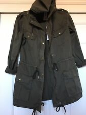 Aritzia Talula TROOPER JACKET Dark Olive XXS *Sold Out*
