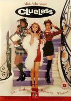 Clueless (DVD, 2000) Like New