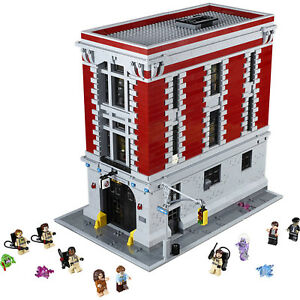 BEST GIFT FOR Custom GHOSTBUSTERS FIREHOUSE COMPITIBLE to 75827 + Manual Book