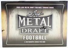 2020 LEAF METAL DRAFT FOOTBALL HOBBY BOX