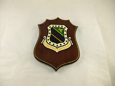 Vintage US Air Force 3rd Tactical Fighter Wing Wood Wall Plaque