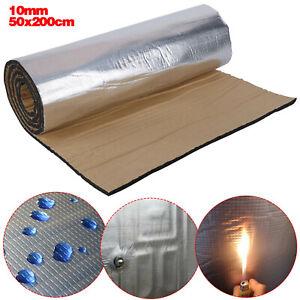 Sound Deadening Mat Car Firewall Sound Proofing Heat Shield Insulation 50X200CM