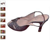 🎀   👠 NEUVES : Sandales Rene CAOVILLA - T39 (UK  - US 8) 👠