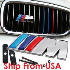 New BMW Front Grille M Chrome Emblem E60 E63 F10 m3 m5 m6 550i 545i 645i 650i