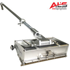 "Platinum 12-Inch Professional 12"" Drywall Flat Finishing Box w/ 42"" Box Handle"