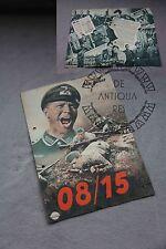 III Reich WW2 WK2  / XX / / IIWW MILITARIA TEDESCA  PAMPHLET MOVIE 08/15