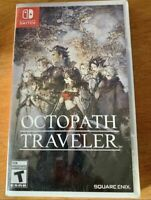 Octopath Traveler (Nintendo Switch, 2018) Brand New Factory Sealed