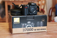 NIKON D7000 body only; excellent state with box and very low shutter count !