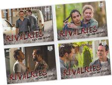 "Walking Dead Season 7 (Seven) - 4 Card ""Rivalries"" Chase Set R-1 - R-4"
