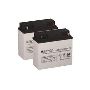 2 Pack of 12V 22AH SLA Battery - 12V 22AH, also fits UPS 12V 22AH Upgrade