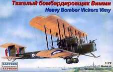 EST-72256 Eastern Express 1/72 Vickers Vimy British WW1 Era Bomber model kit