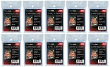 Ultra Pro Set Of 10 x 100 Pouches Guards Cards 1000 Store Safe Sleeves Jcc