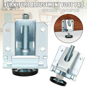 4*Leveler Heavy Duty Feet for Table Shelf Units Adjustment Strong Load-bearing