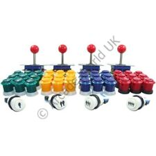 4 Player Arcade Joysticks & Buttons Kit No10