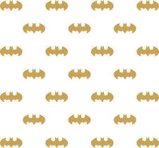 Matt Gold 56 pcs Batman Logo Removable Wall Stickers Decal Kids Art Mural Decor