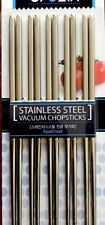 STAINLESS STEEL VACUUM CHOPSTICKS 5PAIRS