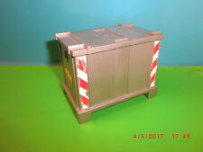 Playmobil Container Schiff Stapler Flugzeug LKW Baustelle  Ersatzteile **164**