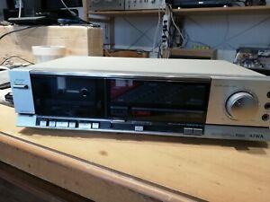 piastra tape deck aiwa f222