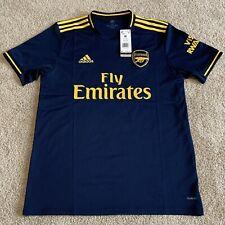 Adidas Arsenal Third 19/20 Navy/Yellow Stadium Jersey FJ9322 Men's Size Medium