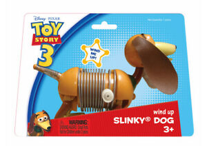 NEW Wind Up SLINKY DOG JR Junior Action Toy Story 3 - Poof Slinky - 3 years +