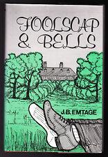 J B Emtage - SIGNED - Foolscap and Bells - 1st/1st 1982, Fine/Fine Copy, Scarce