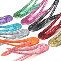 10Pcs/set Cute baby hair clips for hair styling accessories color barrettes
