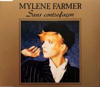 Mylène Farmer Maxi CD Sans Contrefaçon - France (EX+/EX+)