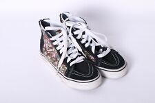 Vans Nintendo Sk8-Hi Black Super Mario Bros Skate Shoes Kids Size 1
