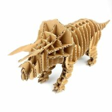 3D Jigsaw Puzzle - Dinosaur Triceratops Educational Cardboard toy