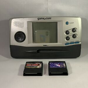 Tiger GAME.COM Video Game Handheld Console Rare 1997 Working DEAD PIXELS Games