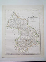 CAMBRIDGESHRE-ANTIQUE MAP BY J CARY DATED 1793  SIZE 10in x 12in