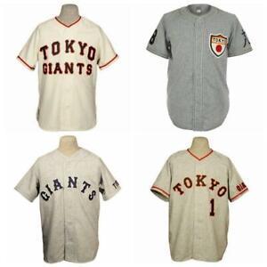 Japan Tokyo Kyojin 1936 1961 Sadaharu Oh Baseball Home Jerseys All Stitched