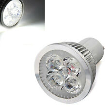 Lampada Faretto GU10 4 LED Bianco 4W Alta Potenza AC 220V-240V 350 lm HK