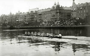 OLD PHOTO 1912 Olympic Games In Stockholm Australian Rowing Team