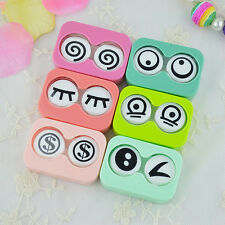 Sunny Eyes Appearance Contact Lens Case Box Container Holder Convenient