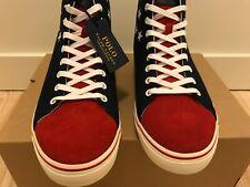 Polo Ralph Lauren USA High Tops Flag Shoes Size 10
