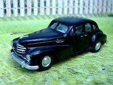 1/43 Collector classic Opel kapitan   Handmade White Metal Model Car Kit