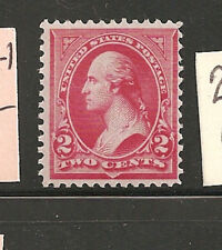 USA  #252    F-VF-LH SC. Value  $125.00