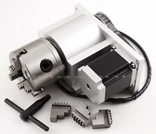 CNC Router Rotational Axis, the 4th Axis, 4 axis, Claw set for engraving Tool
